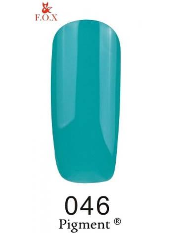 046 F.O.X gel-polish gold Pigment 6 мл, фото 2