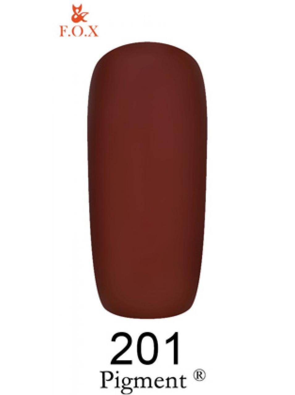 201 F.O.X gel-polish gold Pigment 6 мл