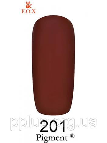 201 F.O.X gel-polish gold Pigment 6 мл, фото 2