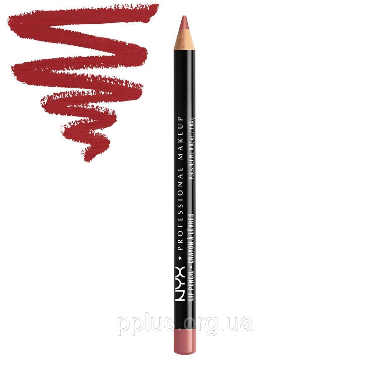 NYX Карандаш для губ Slim Lip Pencil №804 (cabaret)