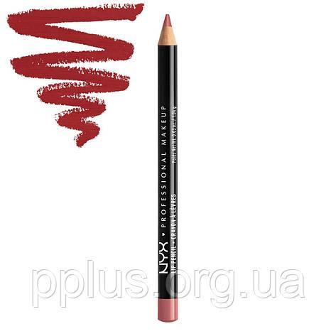 NYX Карандаш для губ Slim Lip Pencil №804 (cabaret), фото 2