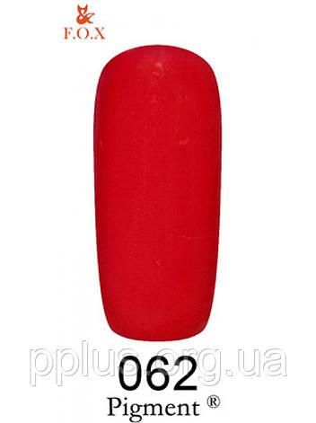 062 F.O.X gel-polish gold Pigment 6 мл, фото 2