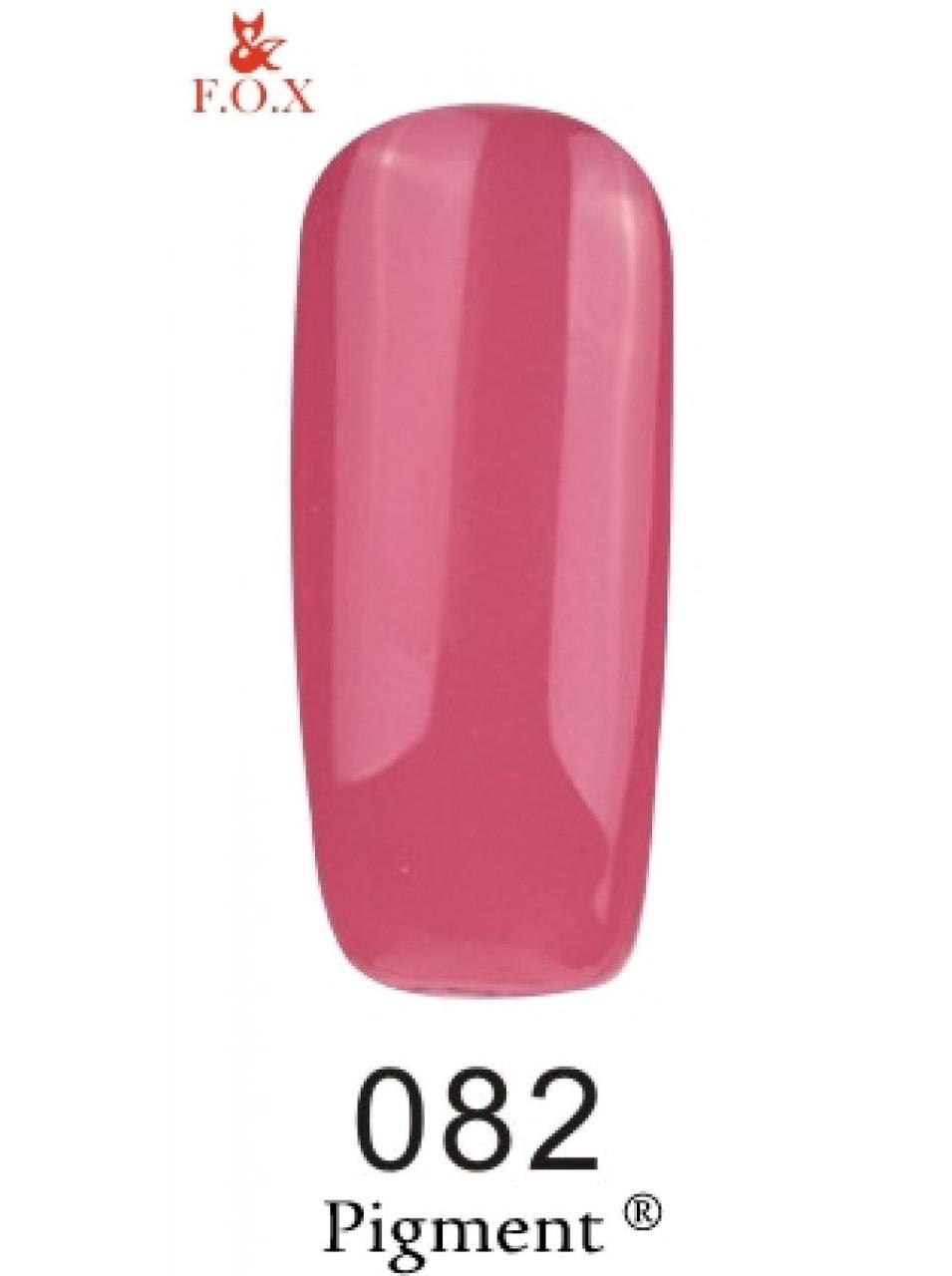 082 F.O.X gel-polish gold Pigment 6 мл