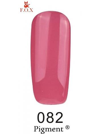 082 F.O.X gel-polish gold Pigment 6 мл, фото 2