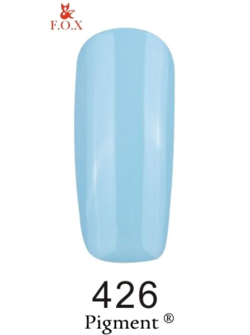 426 F.O.X gel-polish gold Pigment 6 мл