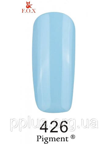 426 F.O.X gel-polish gold Pigment 6 мл, фото 2