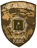 Нарукавная эмблема, УДПС (Сумская обл)