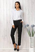 Рубашка белая женская длинный рукав размеры 42-48 . От производителя недорого.