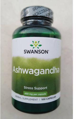 Swanson Premium Ashwagandha (индийский женьшень) 450 mg 100