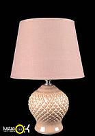 Настольная лампа с абажуром NTD12506 розовый