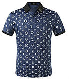 Louis Vuitton Мужская футболка поло луи виттон, фото 3