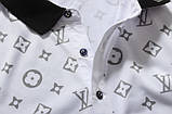 Louis Vuitton Мужская футболка поло луи виттон, фото 10
