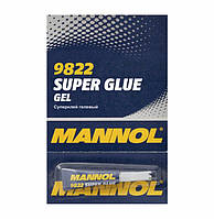 Суперклей гелевый Mannol 9822 Gel Super Glue (3g)