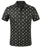 Louis Vuitton Мужская футболка поло луи виттон, фото 6