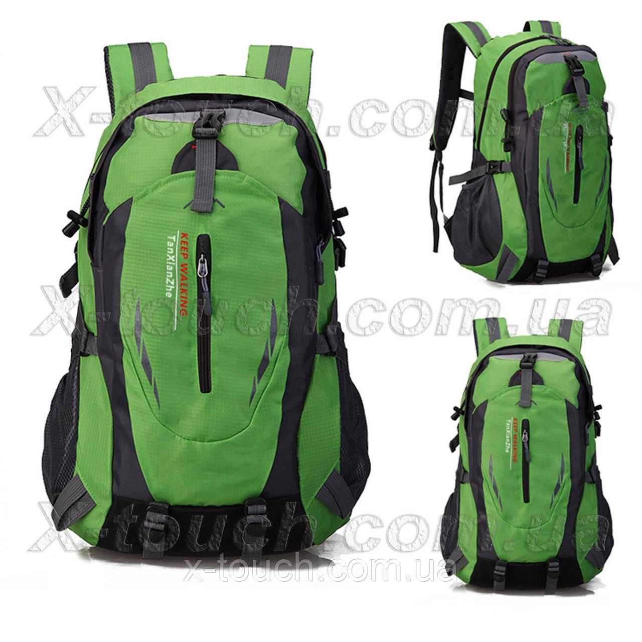 Туристический рюкзак непромокаемый Tan Xian Zhe, зеленый.