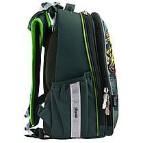 """Рюкзак школьный каркасный 1 Вересня H-25 """"Tmnt"""" 556203, фото 3"""