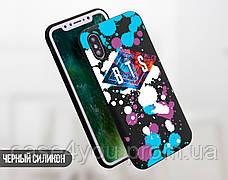 Силиконовый чехол для Apple Iphone XS BTS (БТС) (4026-3365), фото 3