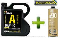 Напівсинтетичне моторне масло - BIZOL Allround 10W40 4л+ Промивка масляної системи BIZOL Oil Clean+ o90