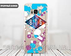Силиконовый чехол для Samsung G935 Galaxy S7 Edge BTS (БТС) (28048-3365), фото 2