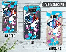 Силиконовый чехол для Samsung G975 Galaxy S10 Plus BTS (БТС) (28232-3365), фото 3