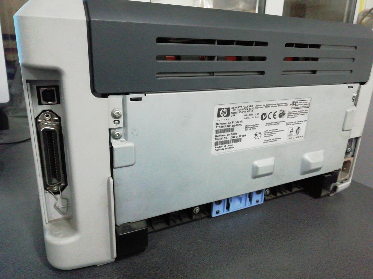 Продам принтер HP LaserJet 1015 малютка под usb