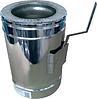 Регулятор тяги (кагла) Ф100/160 н/оц. с термоизоляцией