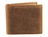 Шкіряний чоловічий компактний гаманець 8029B, фото 2