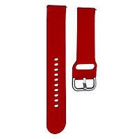 Ремешок DK Silicone Sport Band для Samsung Watch (40/42/44) (R500/R810/R820/R830) 20mm (red)