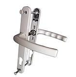 """Нажимний гарнітур """"VORNE"""" 28-92(200мм) з пружиною антрацит RAL 7016 для ПВХ дверей (дверная нажимная ручка), фото 3"""