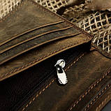 Кошелек купюрник кожаный 8030R, фото 6
