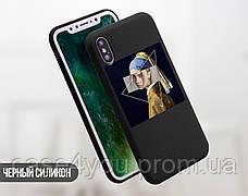 Силиконовый чехол для Apple Iphone 11 Billie Eilish (Билли Айлиш) (4027-3367), фото 3
