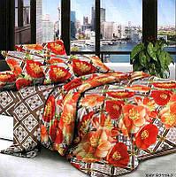 Комплект постельного белья №пл255 Двойной, фото 1