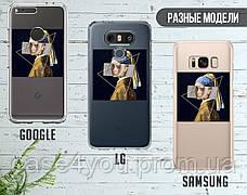 Силиконовый чехол для Huawei P smart Plus Billie Eilish (Билли Айлиш) (17148-3367), фото 3
