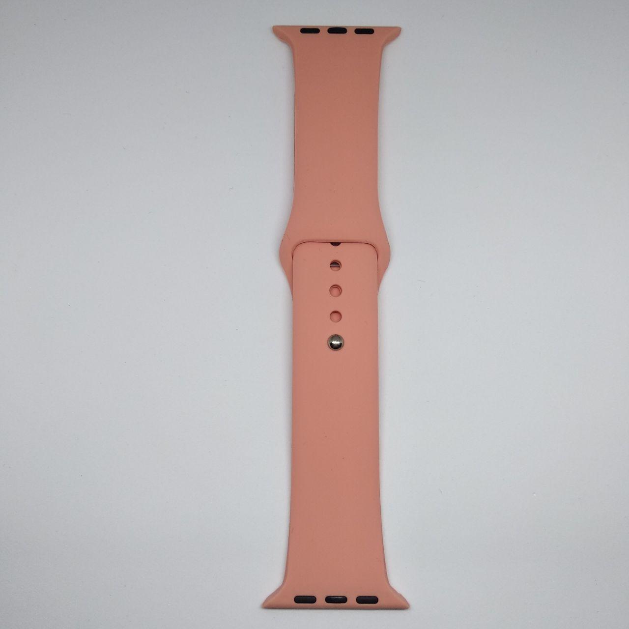 Ремінець ARM для Apple Watch 42mm M/L silicone Papaya