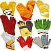 Перчатки бытовые и строительные