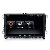 "Штатна магнітола на Volkswagen Passat B6/B7/CC/Caddy/Tiguan/Jetta/Polo/Golf Android 9.1 екран 9"" 2/16Gb Wifi, фото 9"