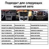 "Штатная магнитола на Volkswagen Passat B6/B7/CC/Caddy/Tiguan/Jetta/Polo/Golf Android 9.1 экран 9"" 2/16Gb Wifi, фото 6"
