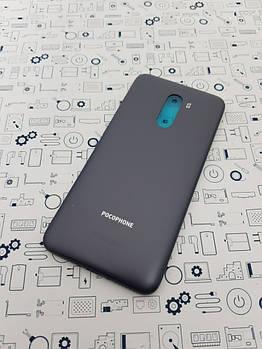 Крышка Xiaomi Pocophone F1 серый с кнопками Сервисный оригинал