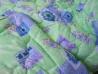 Одеяло силиконовое полуторное, 140 х 195 см, ткань поликоттон. (арт.2908)