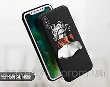 Силиконовый чехол для Huawei P smart Меган Фокс Ренесанс (Megan Fox, Renaissance) (17146-3368), фото 3