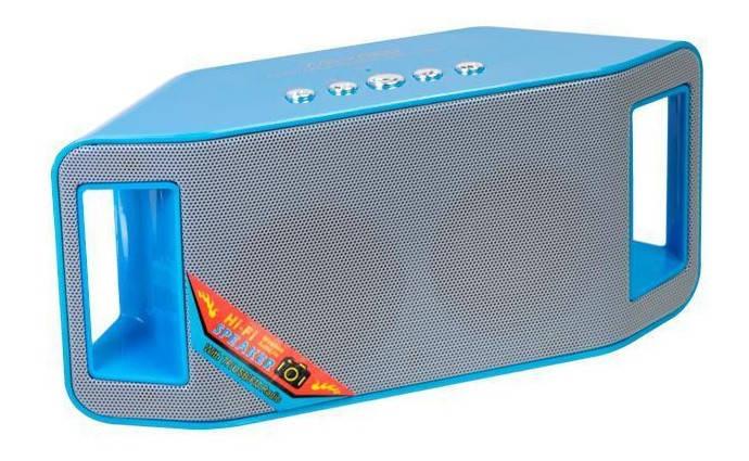 Bluetooth Колонка WS-Y66B blue Гарантия 3 месяца, фото 2