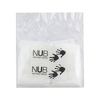 Перчатки одноразовые для маникюра NUB с кератином, коллагеном и экстрактом лотоса, 1 пара