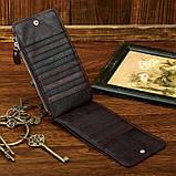 Шкіряний гаманець на змійці Atomy 8034C, фото 5