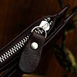Шкіряний гаманець на змійці Atomy 8034C, фото 6