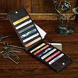 Шкіряний гаманець на змійці Atomy 8034C, фото 8
