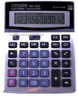 Калькулятор CITIZEN S-1200V