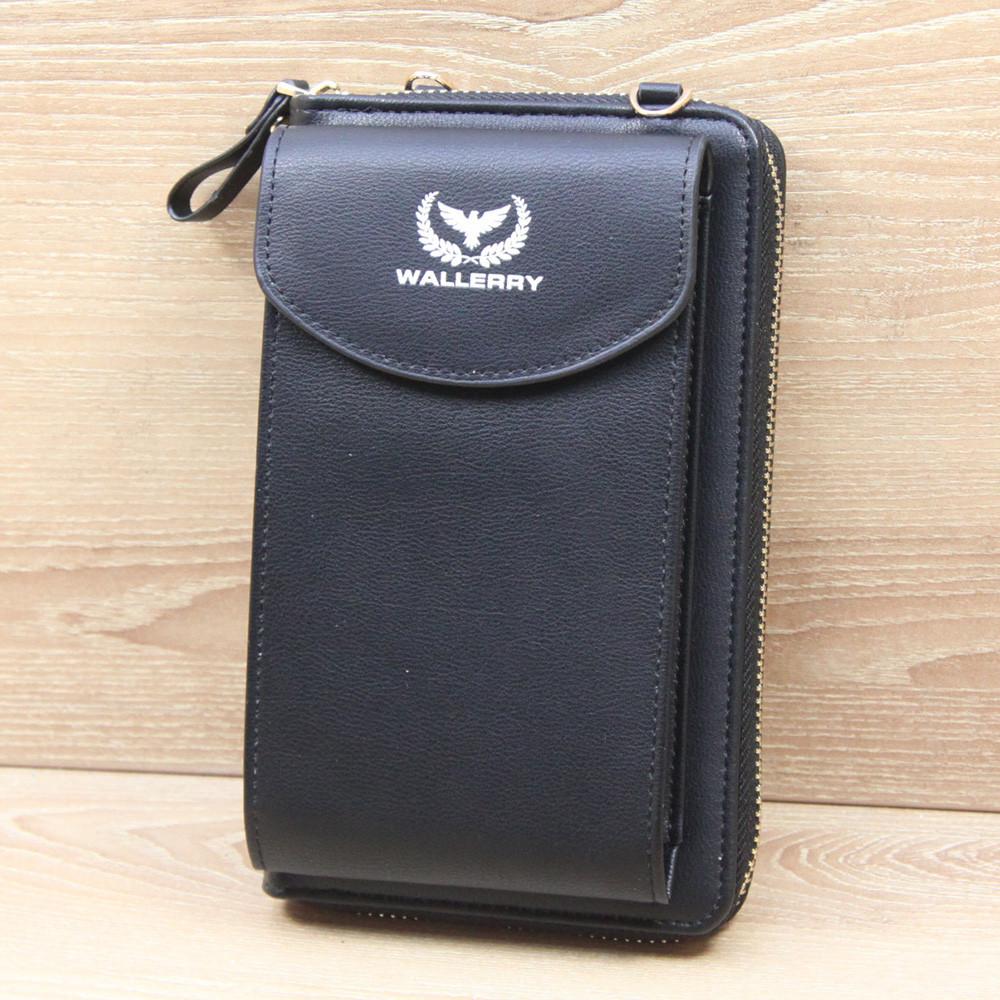 Сумка клатч кошелек с карманом для телефона Wallerry Zl-8591 БЕЗ ВЫБОРА ЦВЕТА