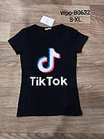 Трикотажная женская футболка Glo-Story S-XL