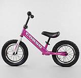 ✅Дитячий велобіг від (беговел) CORSO 54307, сталева рама, надувні колеса, фото 2