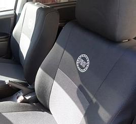 Чехлы на сидения Fiat Doblo Panorama (мінівен) (2005>) в салон (Favorit)
